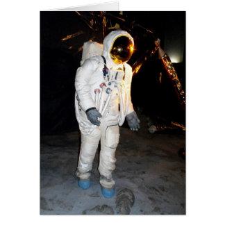 宇宙で歩くこと グリーティングカード
