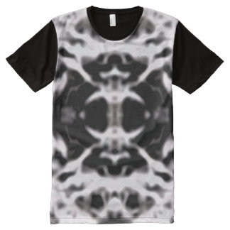 宇宙のくもの巣 オールオーバープリントT シャツ