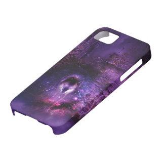 宇宙のオオカミのiPhoneの場合 iPhone SE/5/5s ケース