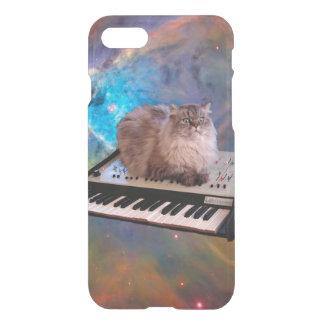 宇宙のキーボードの猫 iPhone 8/7 ケース