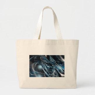 宇宙のクロム ラージトートバッグ