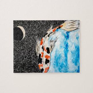 宇宙のコイのパズル ジグソーパズル