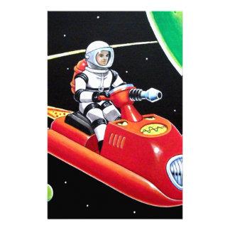 宇宙のスクーター 便箋