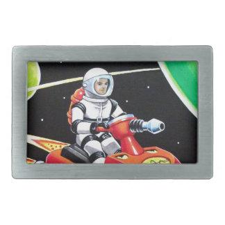 宇宙のスクーター 長方形ベルトバックル