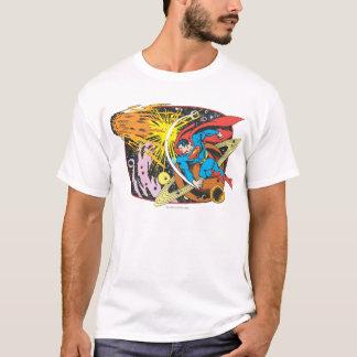 宇宙のスーパーマン Tシャツ