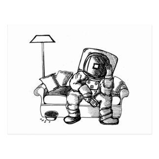 宇宙のソファー はがき