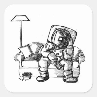 宇宙のソファー スクエアシール