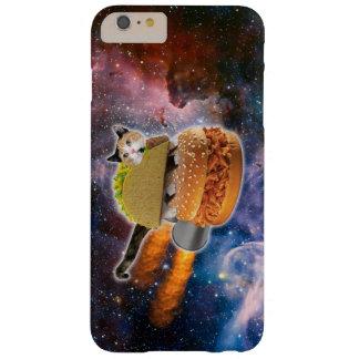 宇宙のタコス猫そしてロケットのハンバーガー BARELY THERE iPhone 6 PLUS ケース