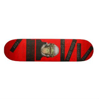宇宙のデッキ1の猿 スケートボード