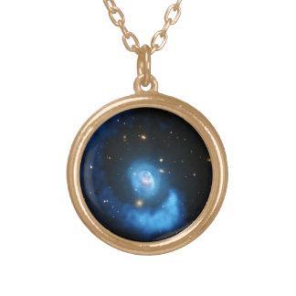宇宙のネックレス ゴールドプレートネックレス