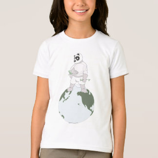 宇宙のパンダT Tシャツ