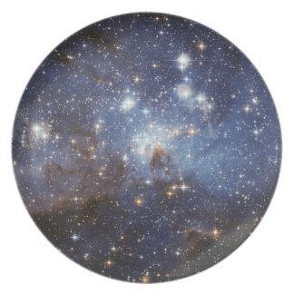 宇宙のプレート1 -星 プレート
