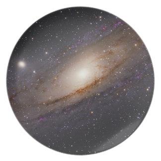宇宙のプレート2 -アンドロメダの銀河系 プレート