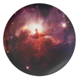宇宙のプレート3 -赤い銀河系 プレート