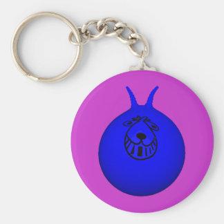 宇宙のホッパーキーホルダーの青か紫色 キーホルダー