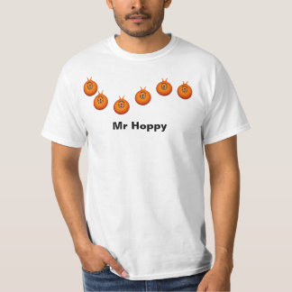 宇宙のホッパーTシャツの白 Tシャツ