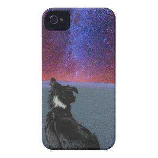 宇宙のボーダーコリー Case-Mate iPhone 4 ケース