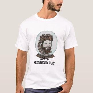 宇宙のマウンテンマンのロゴライトTシャツ Tシャツ