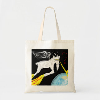 宇宙のヤギ トートバッグ