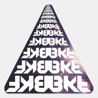 宇宙のレーンジャーのステッカー[20] 三角形シール
