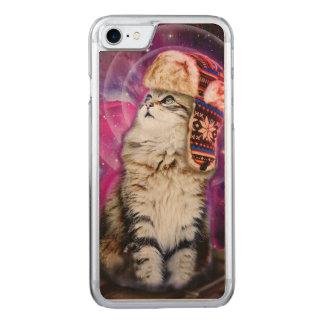 宇宙のロシアのな猫 CARVED iPhone 8/7 ケース