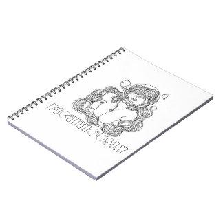 宇宙の人魚のノート ノートブック