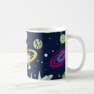 宇宙の冒険 コーヒーマグカップ