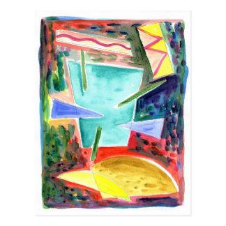 宇宙の原住民8 ポストカード