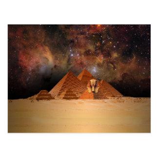 宇宙の古代Sphynx ポストカード