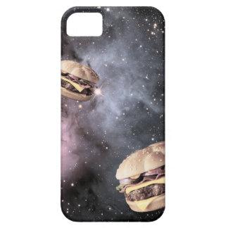 宇宙の場合のベーコンのチーズバーガー iPhone SE/5/5s ケース
