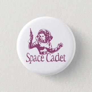 宇宙の士官候補生のピンク 3.2CM 丸型バッジ