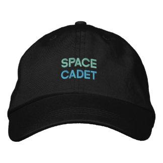 宇宙の士官候補生の帽子 刺繍入りキャップ