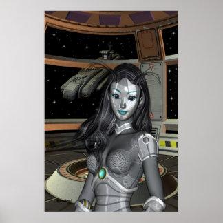 宇宙の士官候補生 ポスター