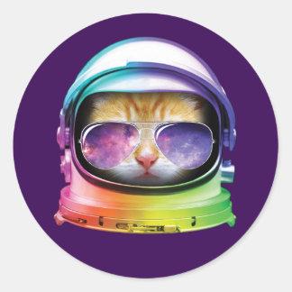 宇宙の子猫 ラウンドシール
