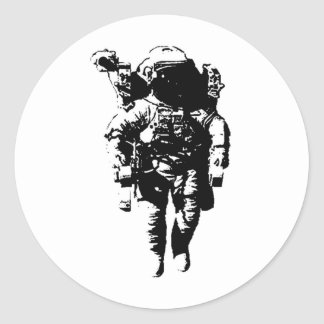 宇宙の宇宙飛行士 ラウンドシール