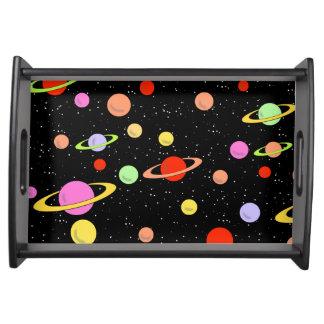 宇宙の惑星の星 トレー