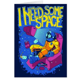 宇宙の挨拶状 カード