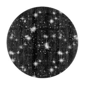 宇宙の明るく輝くな星 カッティングボード