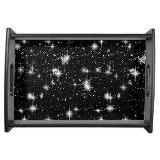 宇宙の明るく輝くな星 トレー