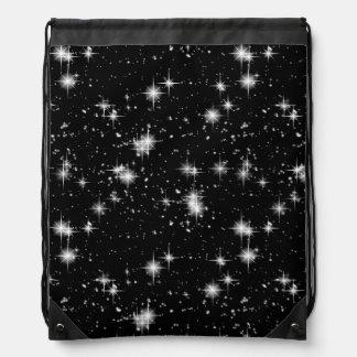 宇宙の明るく輝くな星 ナップサック