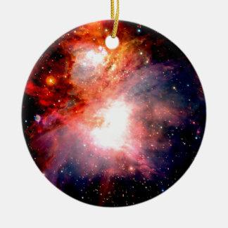宇宙の星雲 セラミックオーナメント