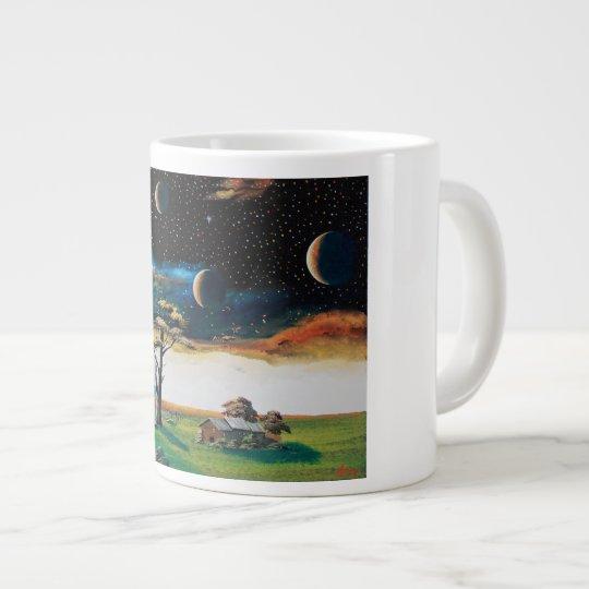 宇宙の星・巨木 ジャンボコーヒーマグカップ