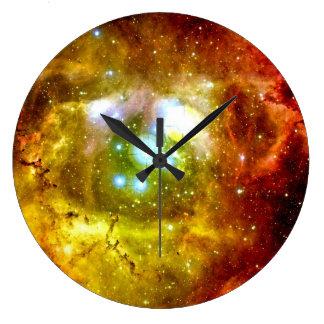 宇宙の時計 ラージ壁時計