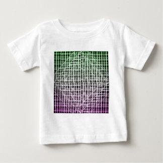 宇宙の格子縞 ベビーTシャツ