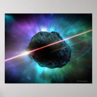 宇宙の流星 ポスター