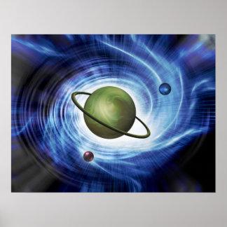 宇宙の渦ポスター ポスター