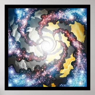 宇宙の渦 ポスター