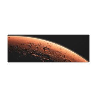 宇宙の火星の赤い惑星、火星のキャンバス キャンバスプリント
