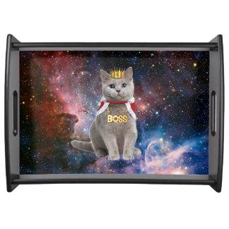 宇宙の王猫 トレー