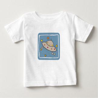 宇宙の空飛ぶ円盤 ベビーTシャツ